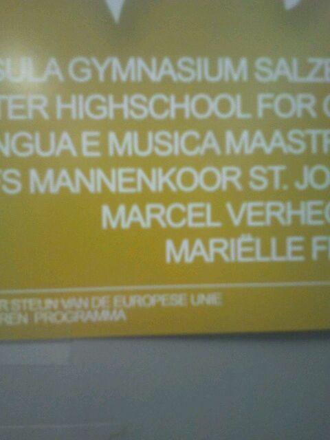 Marcel Hinzen zingt dökser als dat vier dinke