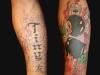 Tiny Beaumont als tattoo