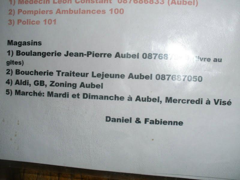 't Fabienne Hinzen hat jet mit d'r Daniel....